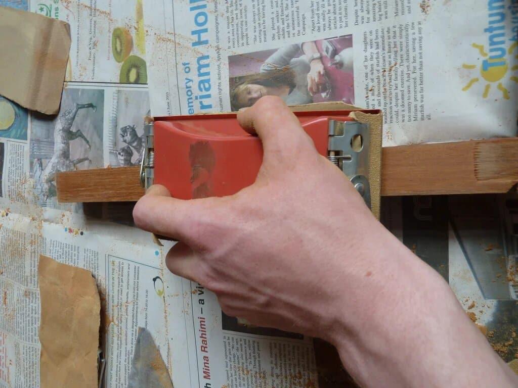 comment rénover un meuble en bois - 2