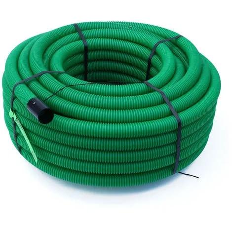 gaine électrique exterieur verte